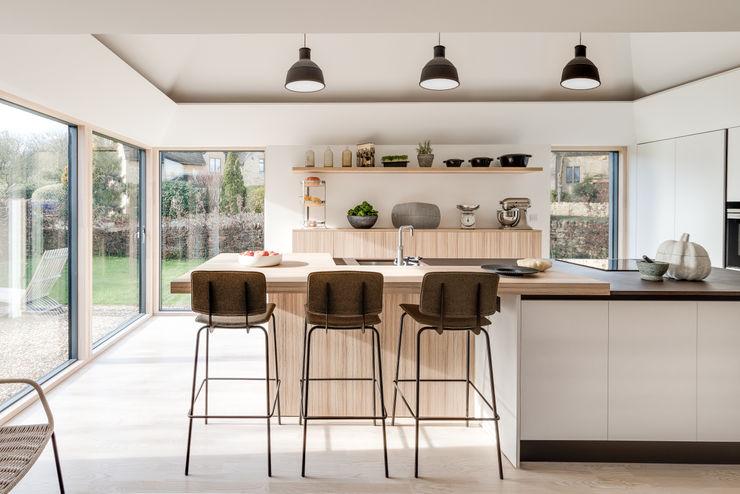 Arts & Crafts House design storey Scandinavian style kitchen