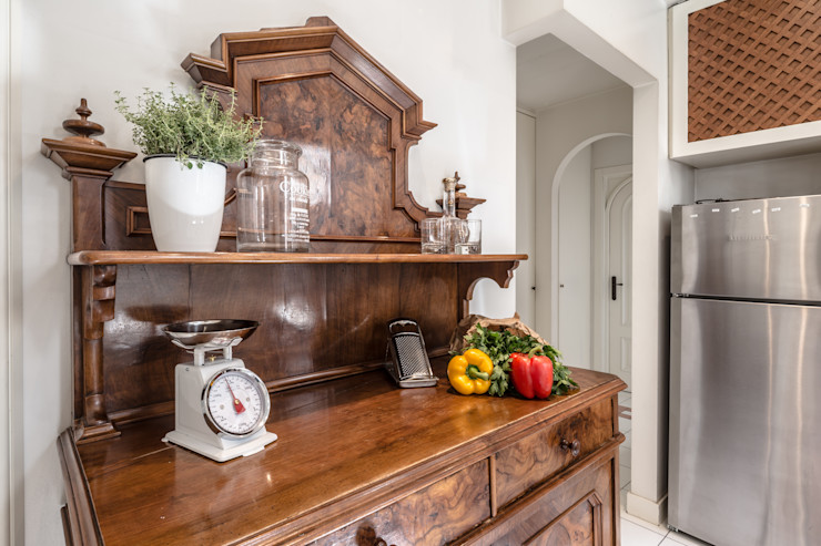 Casa Q2 - Relooking Architrek Cucina attrezzata Legno