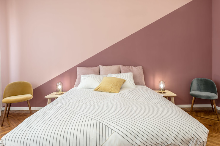 Camera matrimoniale Architrek Camera da letto moderna
