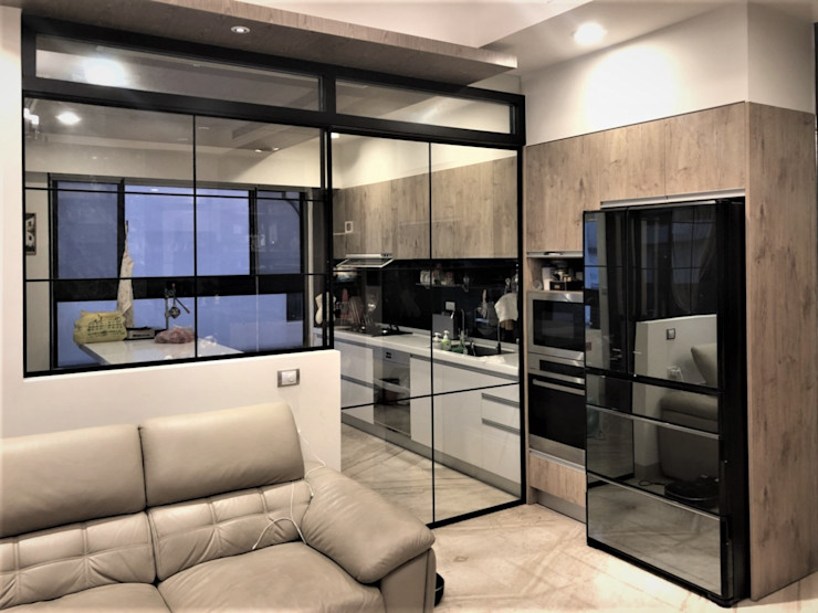 喬克諾空間設計 Cocinas de estilo ecléctico