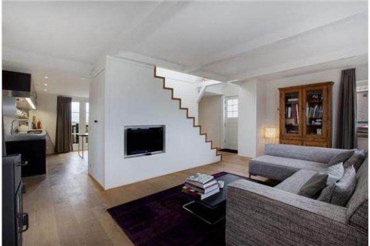 Dineke Dijk Architecten 现代客厅設計點子、靈感 & 圖片