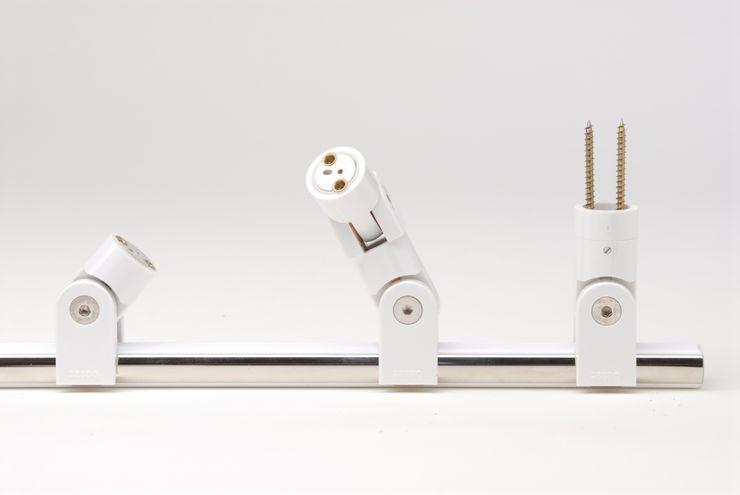 Glaxis betec Licht AG Paredes y pisos modernos Blanco