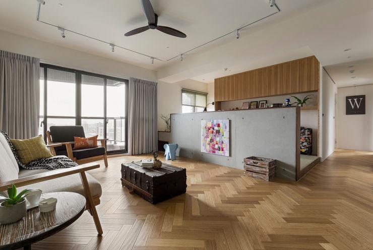 客廳 邑田空間設計 Scandinavian style living room