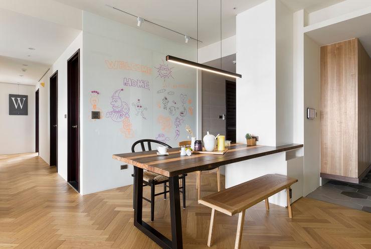 餐廳 邑田空間設計 Scandinavian style dining room