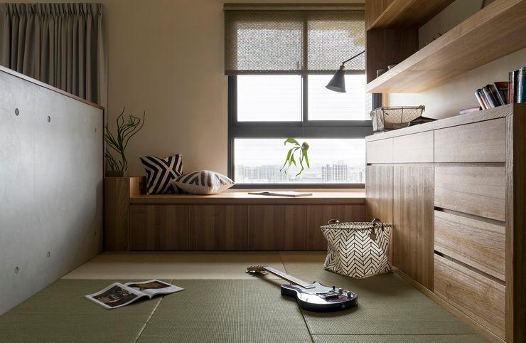 書房 邑田空間設計 Asian style study/office