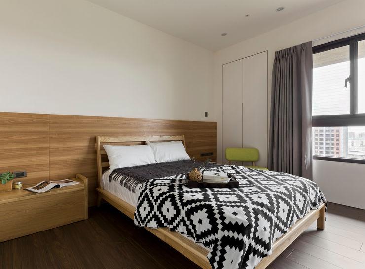 主臥室 邑田空間設計 Scandinavian style bedroom