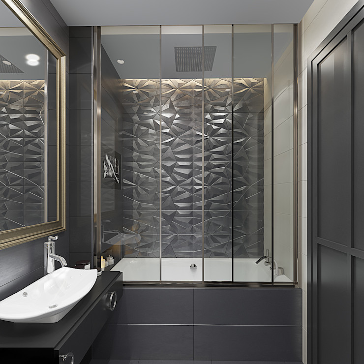 Дизайн-проект квартиры в стиле неоклассика design4y Ванная в классическом стиле