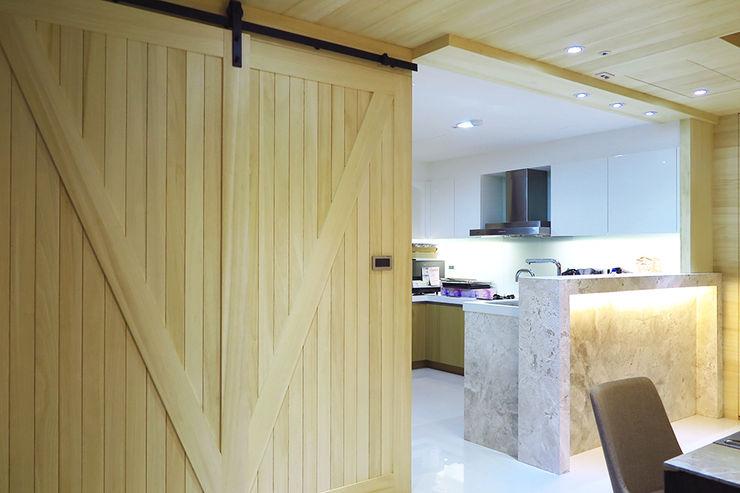 開放式廚房 邑田空間設計 Scandinavian style kitchen