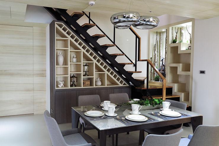 餐廳 邑田空間設計 Modern dining room