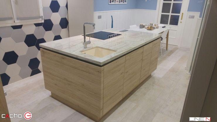 CACHO Estudio De Cocinas Modern style kitchen