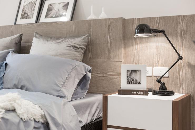 簡約 / 都會風 騰龘空間設計有限公司 臥室
