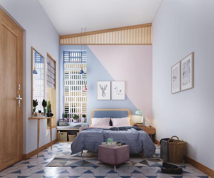 Studio Gritt Skandinavische Schlafzimmer