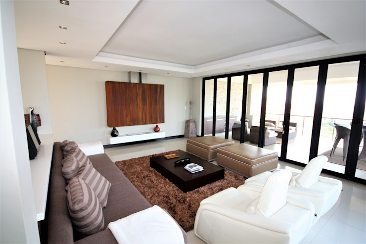 Living room Nuclei Lifestyle Design Modern living room White