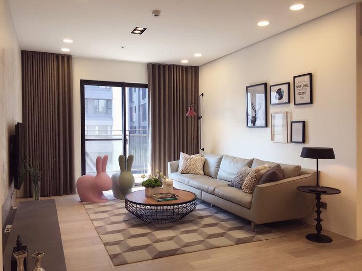 Fertility Design 豐聚空間設計 Ruang Keluarga Modern