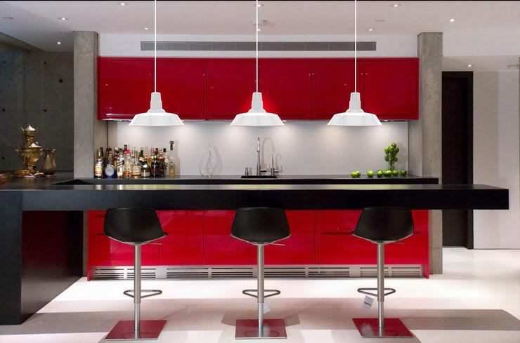 Co&Ca Lighting KücheBeleuchtung Eisen/Stahl Weiß