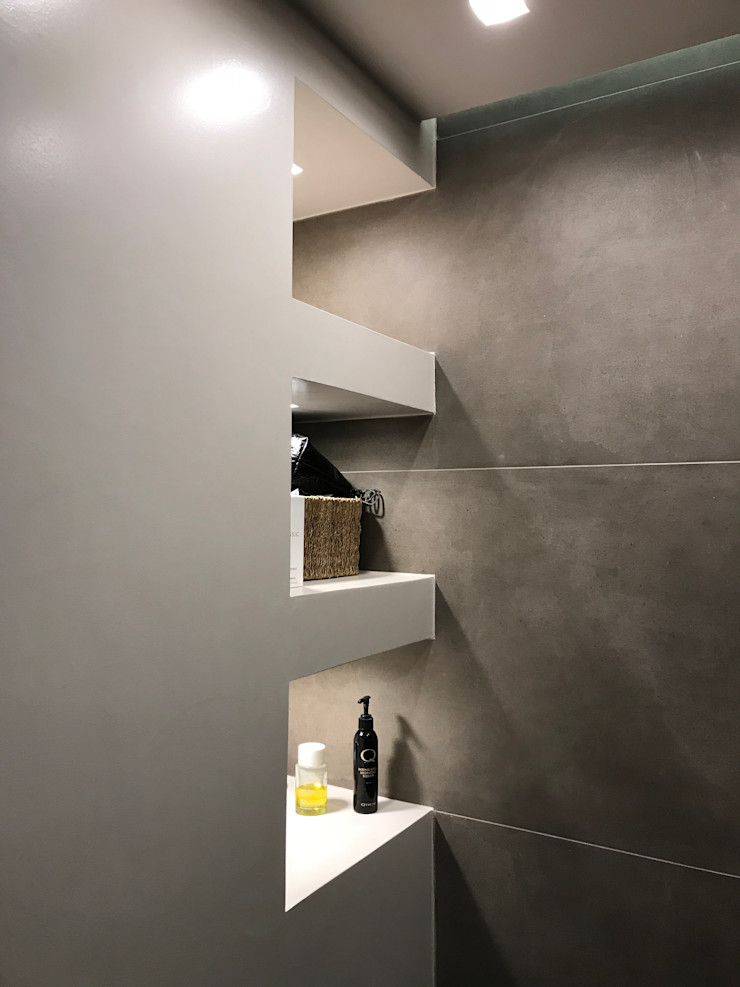 Bagno in suite Cozzi Arch. Mauro Bagno moderno