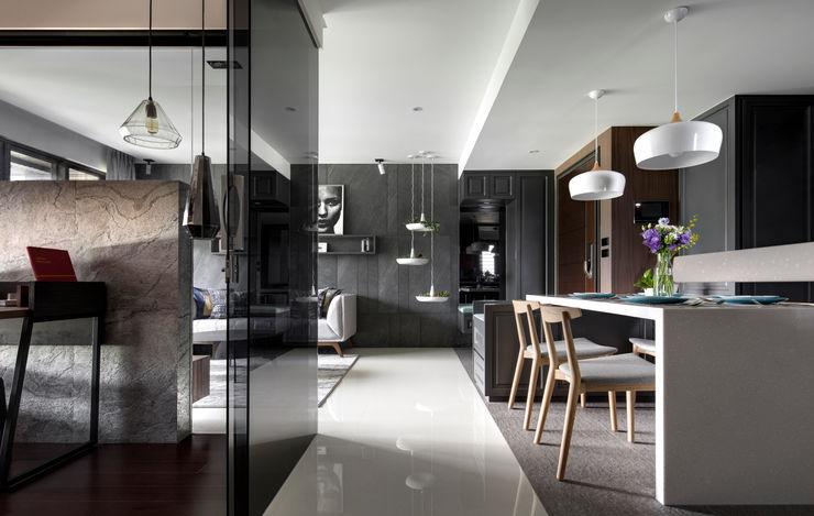 新北24坪機能住宅 鈊楹室內裝修設計股份有限公司 餐廳