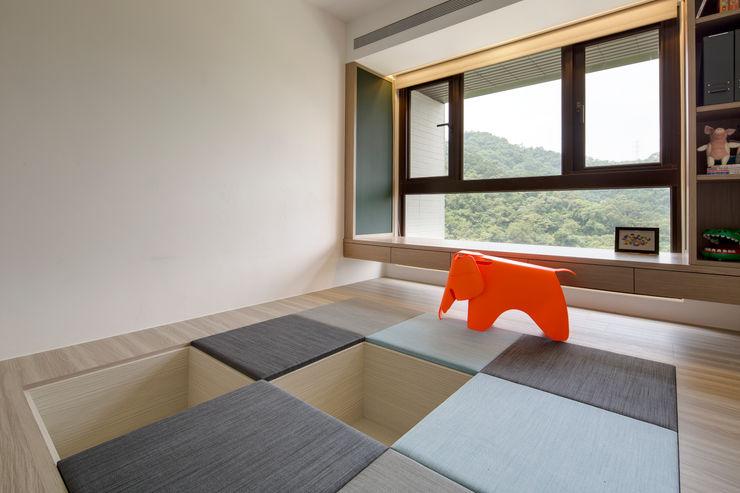 新北24坪機能住宅 鈊楹室內裝修設計股份有限公司 嬰兒房/兒童房