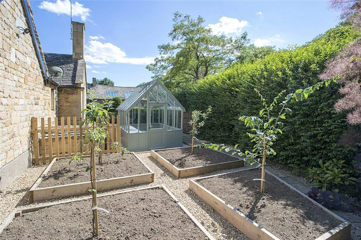 Pike Cottage ARB Architecture Ltd Garten im Landhausstil