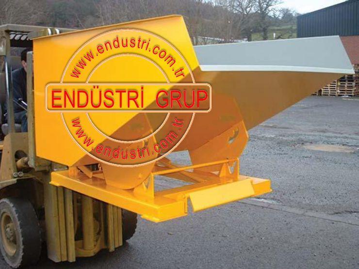 Endustri grup-Forklift devirme tertibatli konteyner kasa hurda cop kovası ENDÜSTRİ GRUP
