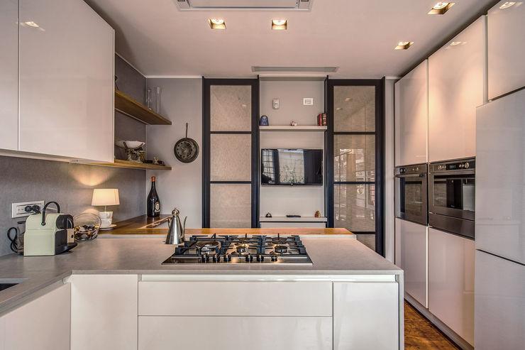ISIDORO MOB ARCHITECTS Cucina moderna