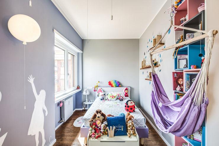 ISIDORO MOB ARCHITECTS Stanza dei bambini moderna