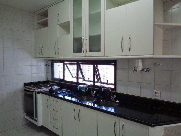 Cozinha antes Bernal Projetos - Arquitetos em Salvador