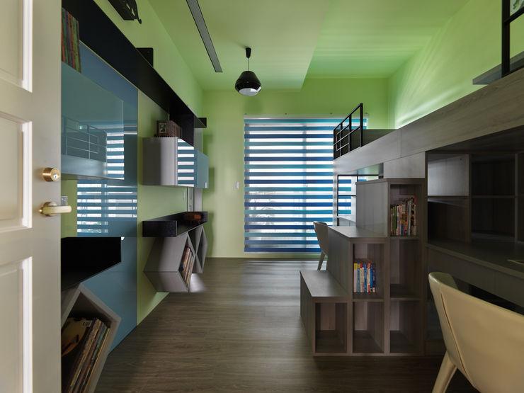 寬隆敦和侯宅 李正宇創意美學室內裝修設計有限公司 男孩房