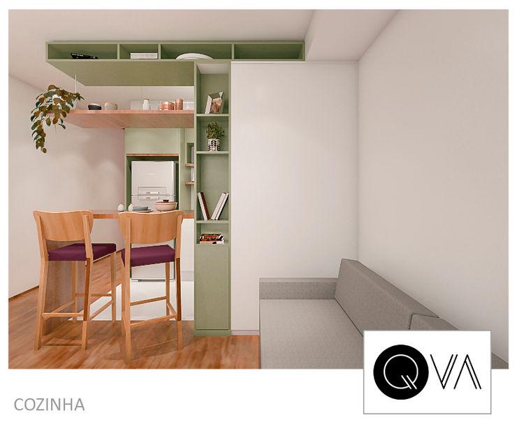 QViveAlli Muebles de cocinas Verde