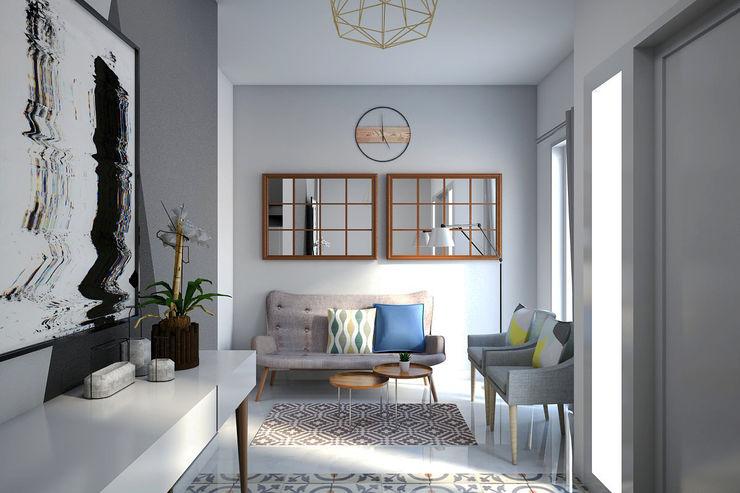 Ruang Tamu Vivame Design