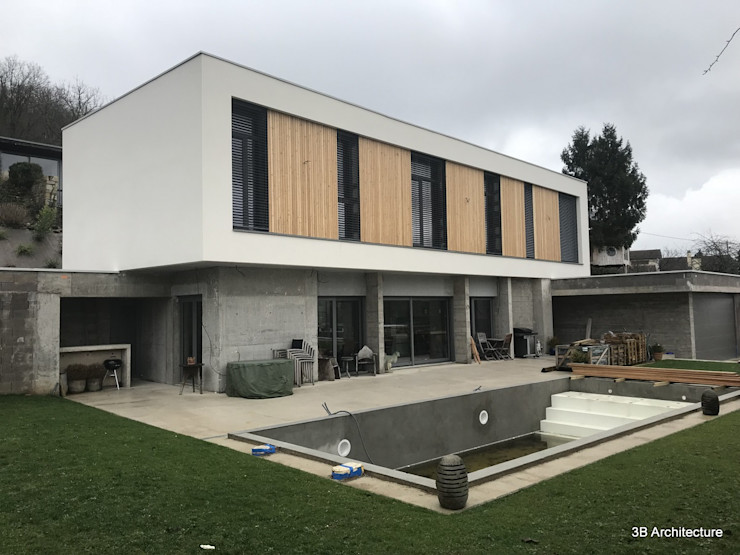 Villa avec piscine 3B Architecture Villa