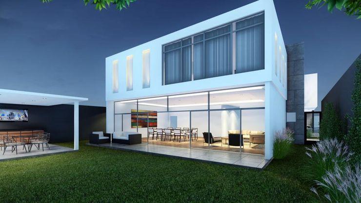 HERRADA Arquitectura Modern Houses