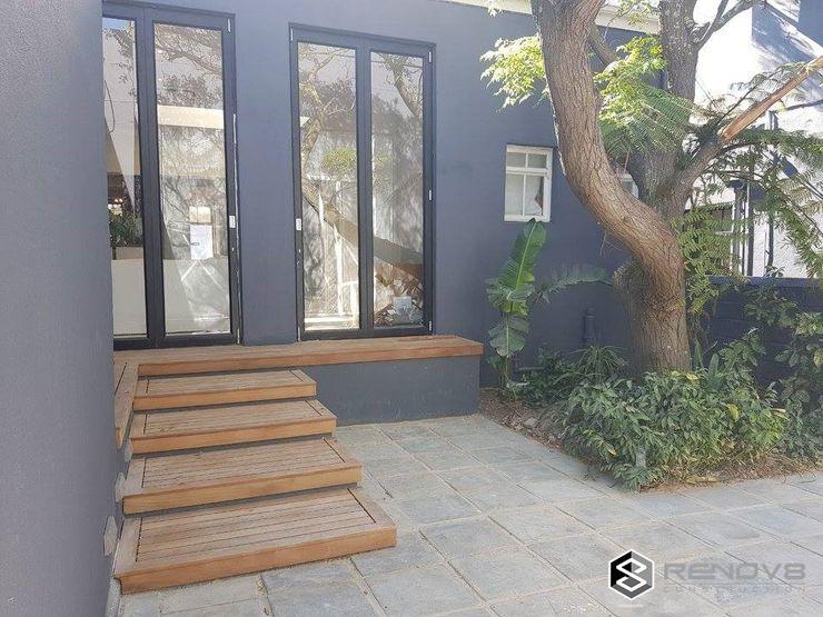 Completion - Exterior Courtyard Renov8 CONSTRUCTION