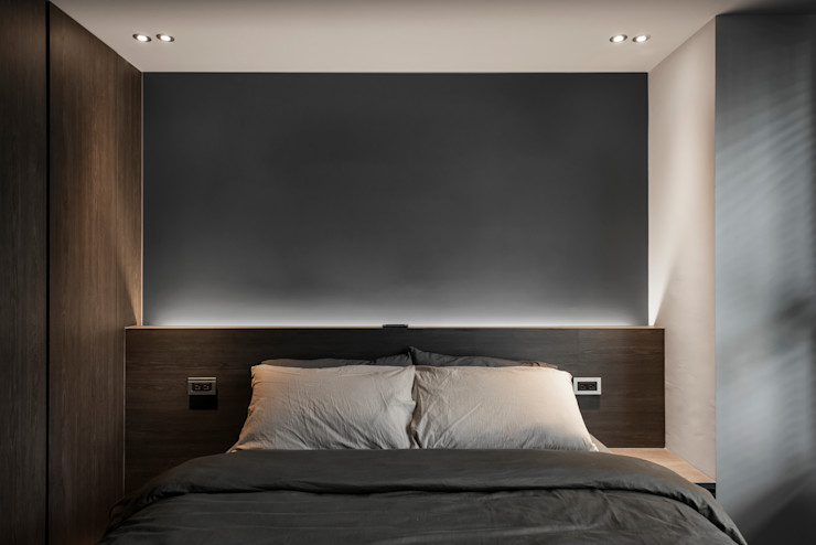 Bedroom 湜湜空間設計 臥室 木頭 Wood effect