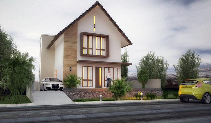 graha reka arsidea Single family home Bricks White