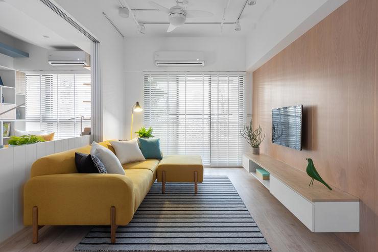 寓子設計 Вітальня