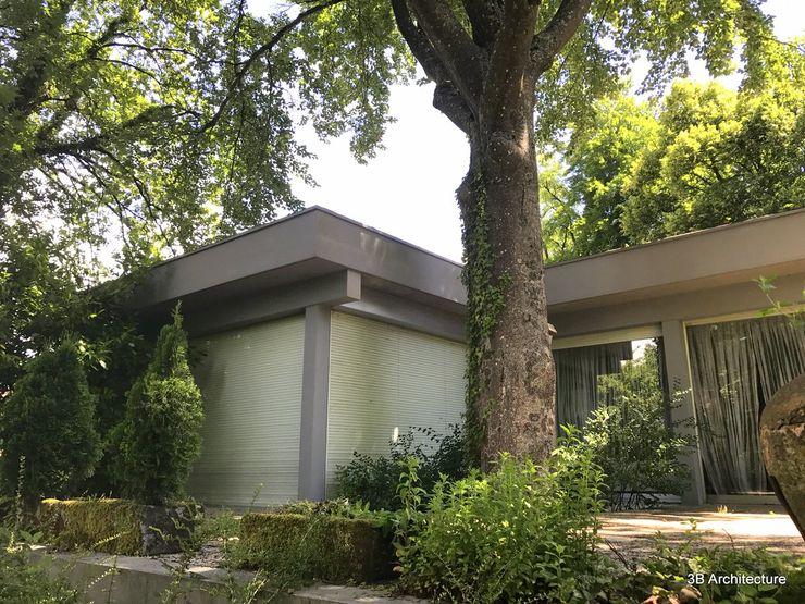 Rénovation d'une maison moderne 3B Architecture Maison individuelle Béton Gris
