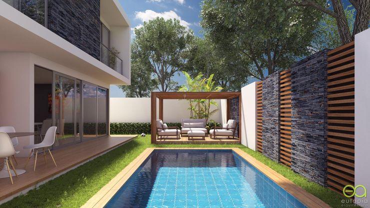 homify Garden Pool Concrete Multicolored