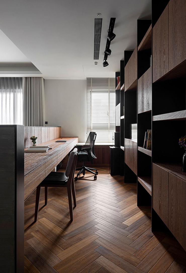書房 邑田空間設計 Classic style study/office