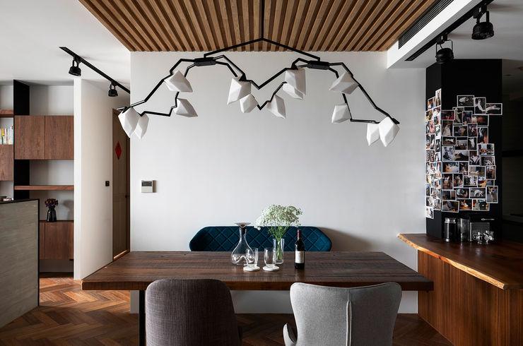餐廳 邑田空間設計 Classic style dining room