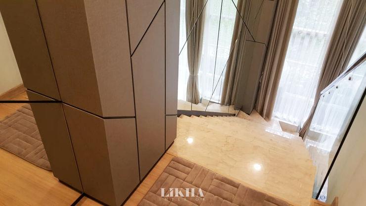 Mezzanine Likha Interior Lantai Kayu Lapis Grey
