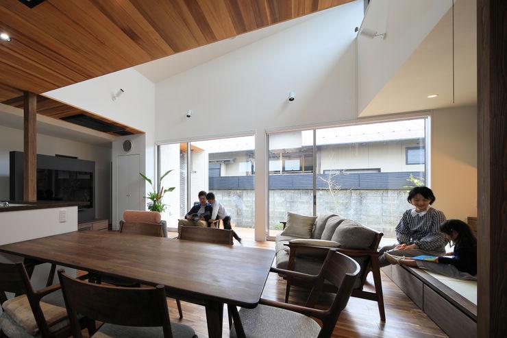 ㈱ライフ建築設計事務所 에클레틱 거실