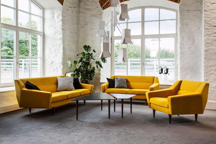 Baltic Design Shop Ruang Keluarga Gaya Skandinavia Kayu Yellow