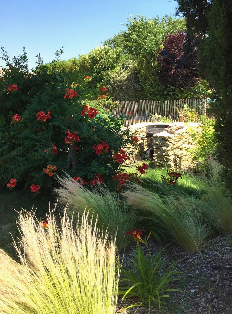 Trente nuances de verts… Paradeisos conception de jardin Jardin tropical