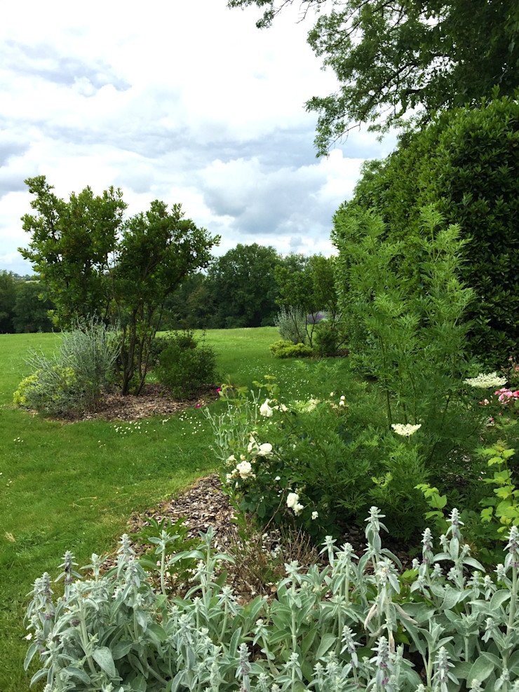 Rosa rosa rosam... Paradeisos conception de jardin Jardin rural