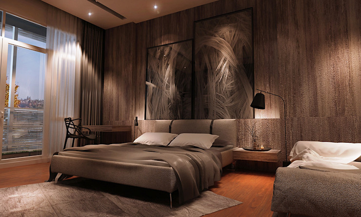 Bedroom, home design Malaysia Norm designhaus Modern style bedroom