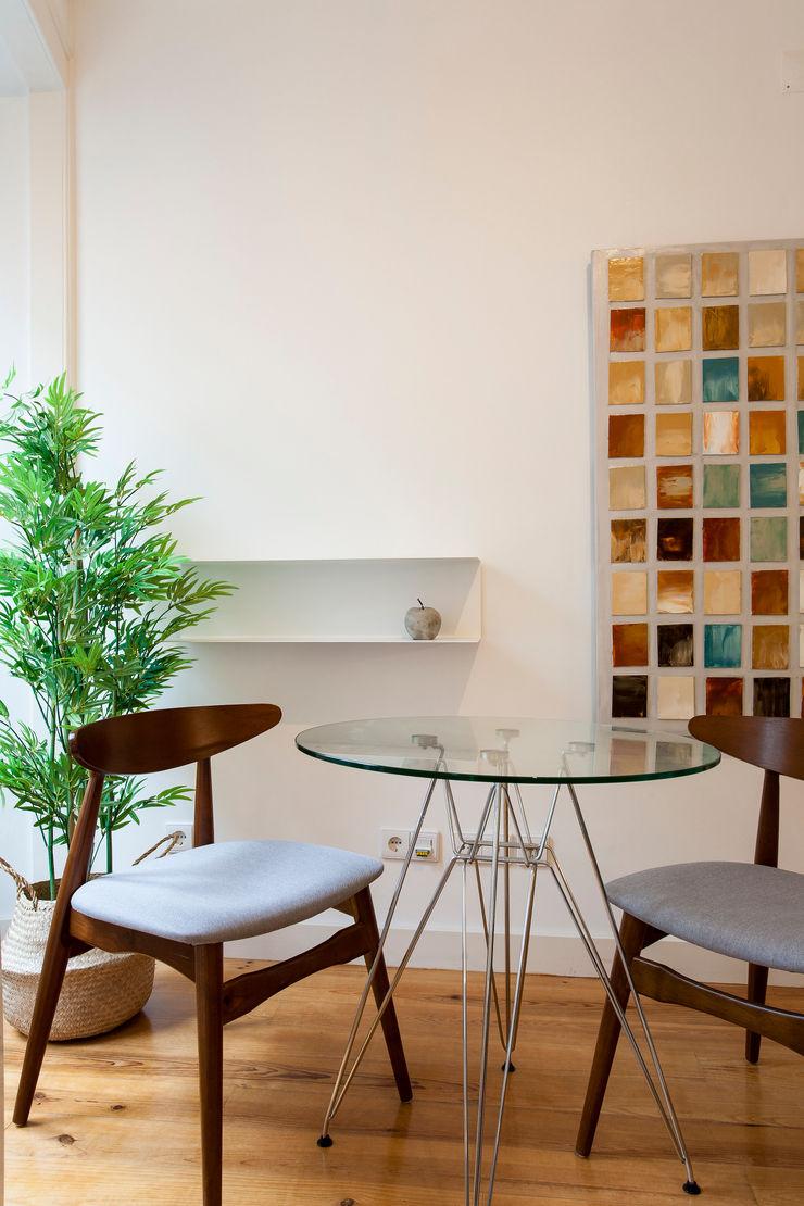 Traço Magenta - Design de Interiores Dining roomAccessories & decoration Blue