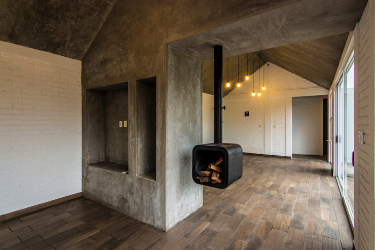 Sin Título Arquitectura Modern Oturma Odası