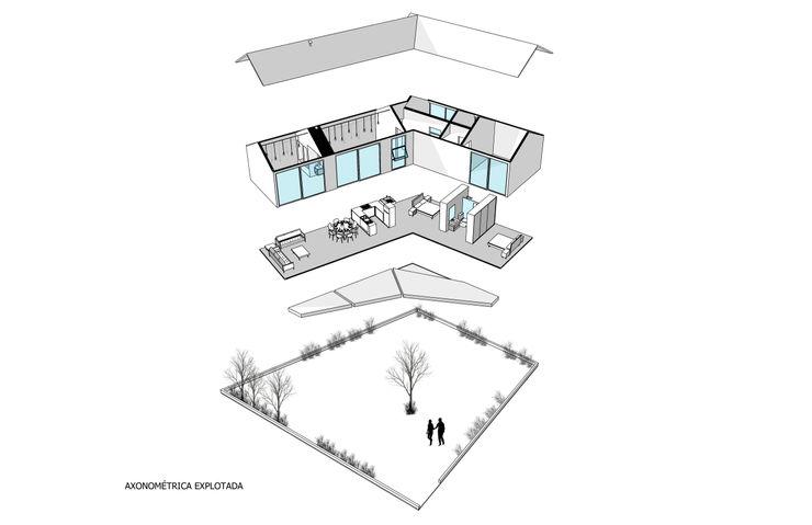 Sin Título Arquitectura Modern Balkon, Veranda & Teras