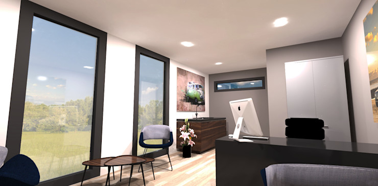 CUBE Homes Modern offices & stores